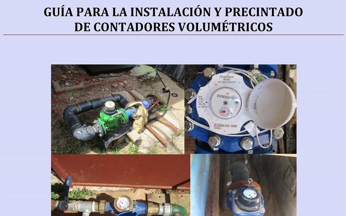 Guía de la CHG para la instalación y precintado de contadores volumétricos