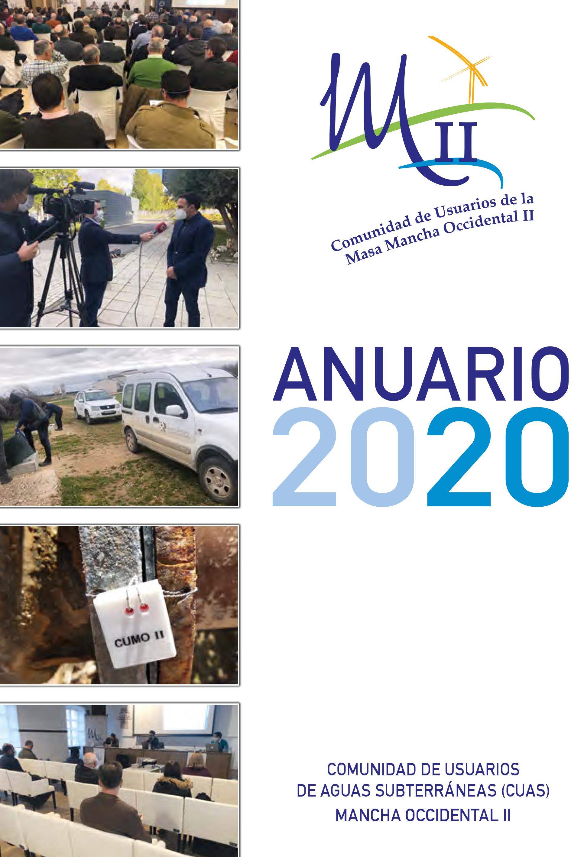 CUAS Mancha Occidental II publica su Anuario 2020